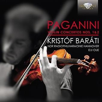 Paganini - Paganini: Violin Concertos Nos. 1 & 2 [CD] USA import