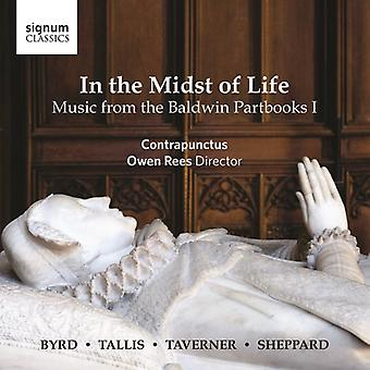 Byrd / Contrapunctus / Rees - In the Midst of Life - Music From the Baldwin I [CD] USA import