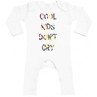Spoilt Rotten Cool Kid's Don't Cry Baby Footless Romper