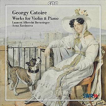 G. Catoire - Georgy Catoire: Oeuvres pour violon & Piano [CD] USA import