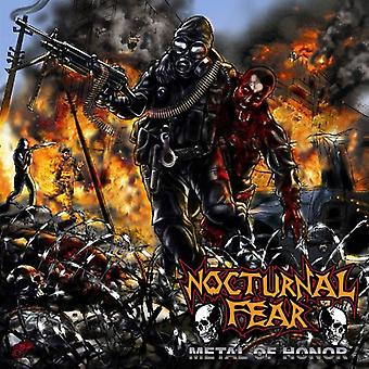 Nocturnal Fear - Metal of Honor [CD] USA import