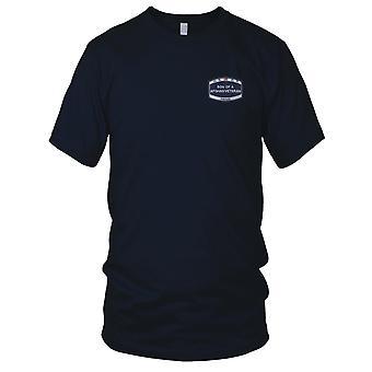 US Coast Guard USCG - søk og redning brodert Patch - SAR-1 damer T skjorte