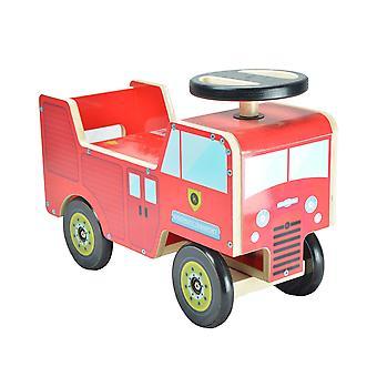 Kiddimoto Fire Engine Ride On Push Along 12-24 Months