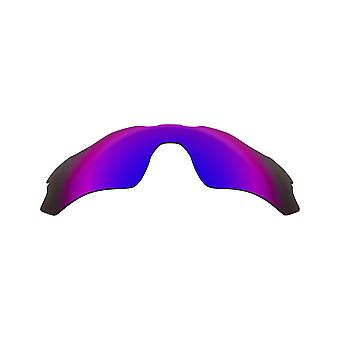 SeekOptics Replacement Lenses for Oakley Radar EV Path Polarized Purple Mirror UV400