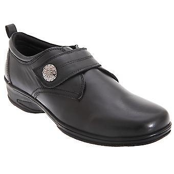 Mod Comfys Womens/dames raken bevestiging van metalen Trim Casual schoenen