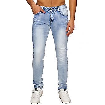 Clubwear de denim Jeans Vintage Destroid masculine pieds-noirs