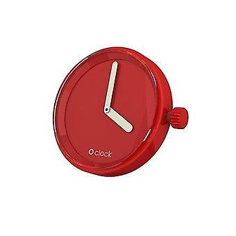 O del reloj de campana de tono rojo