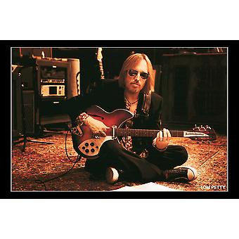 Tom Petty Sitting Poster Print