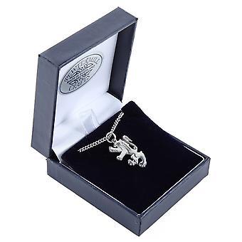 Scottish Lion Rampant Pewter Pendant