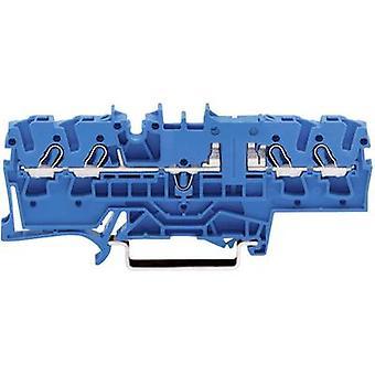 WAGO 2002-1804 jatkuvuus 5.20 mm vetää kevään kokoonpano: N Blue 1 PCs()