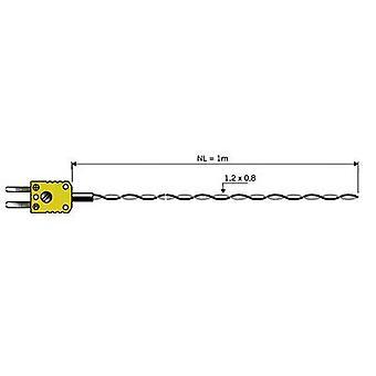 Luftsonde B & B Thermo-Technik 06001301-10 -50 bis +260 °C K Kalibriert nach Herstellernormen (kein Zertifikat)