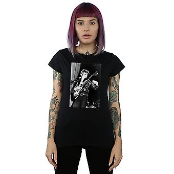 David Bowie Women's Smiling Guitar T-Shirt