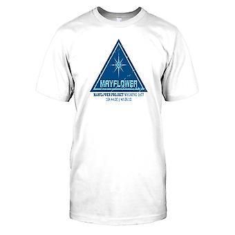 Mayflower-Projekt - Begegnungen der dritten Art Herren-T-Shirt