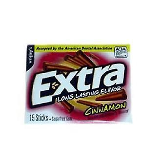 Ekstra kanel sukker tyggis 3 Pack