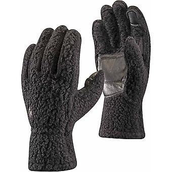 Black Diamond Yetiweight Fleece Liner Gloves - Black