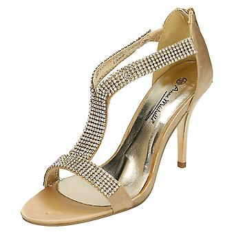 Ladies Anne Michelle Heeled Sandals - L3368