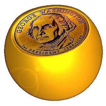 Piercing ersättare boll guld, smycken, Dollar | 1,6 x 5 och 6 mm