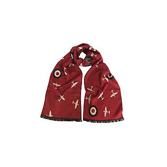 Union Jack indossare Spitfire sciarpa - rosso RAF Spitfire