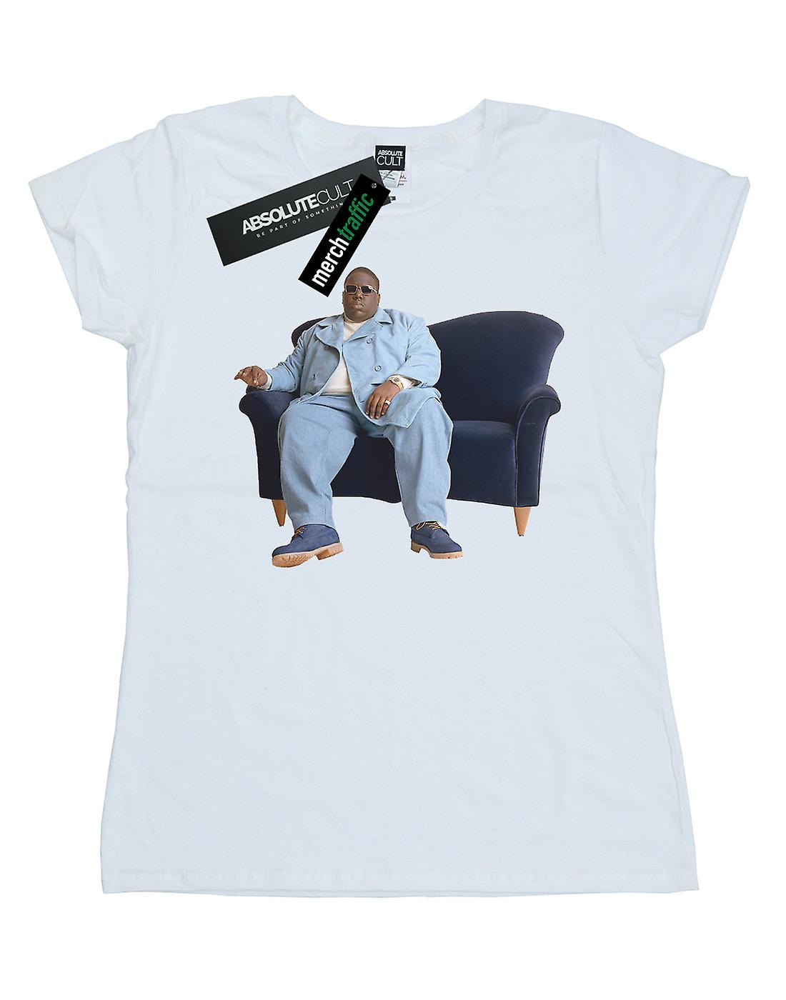 Notorious BIG Women's Blue Couch T-Shirt