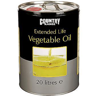 Campo di paese esteso olio vegetale vita