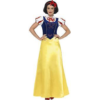 Costume de princesse neige, XS