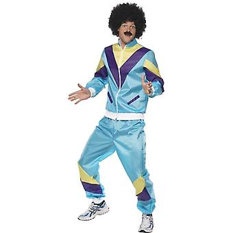 80's Height of Fashion Shell Suit Costume, Chest 46