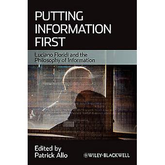 Att sätta Information först - Luciano Floridi och filosofin av information