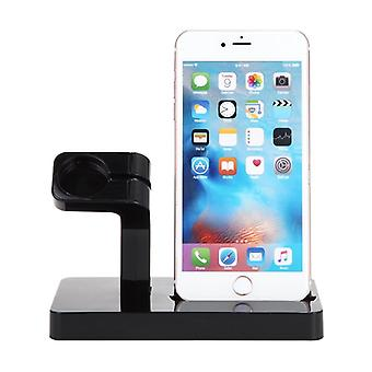 USB charging stand for Apple Watch and iPhone-Black