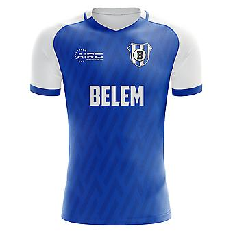 2020-2021 Belenenses Home Concept Football Shirt - Manica lunga per adulti