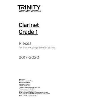 Klarinett-examen bitar grad 1 2017-2020 (endast del)