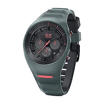氷時計シリコーン ストラップ クロノグラフ クォーツ メンズ腕時計 14947