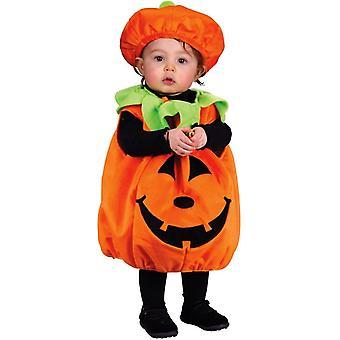 Plush Pumplkin Infant Costume