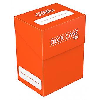 Ultimate Guard - Kortbox 80+Kort - Röd  Kort Förvaring