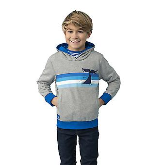 Lighthouse Jonas Boys Hoodie Grey Marl