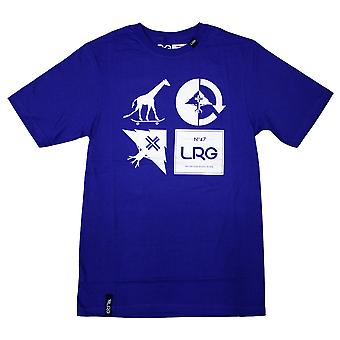 LRG RC Logo Mash Up t-paita syvä Colbalt
