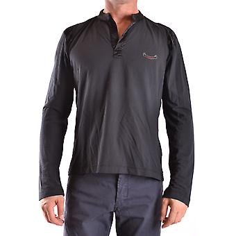 Iceberg Ezbc188001 Men's Black Cotton Sweater