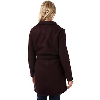 Womens Vero Moda Nina Brushed Jacket In Winetasting