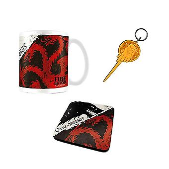 Game of Thrones Stark and Targaryen Gift Set