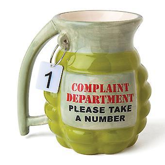BigMouth Grenade Mug Bir Numara alın