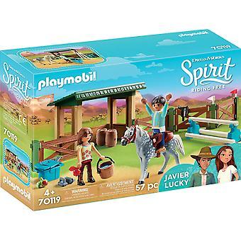 Playmobil DreamWorks espírito 70119 equitação Arena