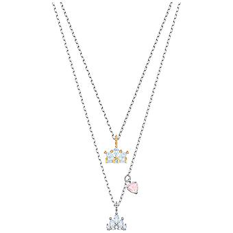 Swarovski Out of this World Queen Necklace - White - Mixed Plating