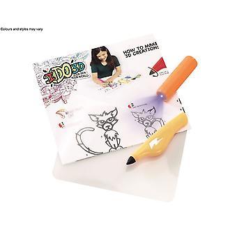 Ido3d Single Pen Starter Set - Yellow Pets