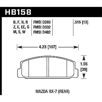 Hawk Performance HB158N.515 HP Plus