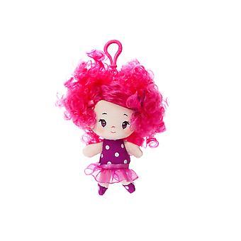 Aurora-Welt 4-Zoll-Cutie locken Sophia Backpack Clip