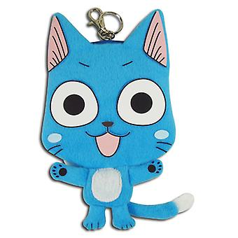 Coin Purse - Fairy Tail - Happy 7'' Plush New Licensed ge20562