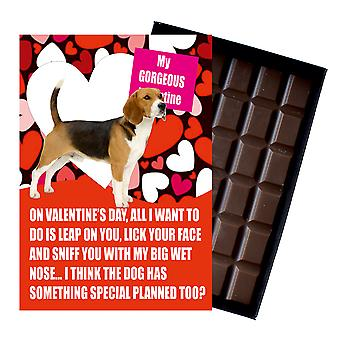 Beagle Gift for Valentines Day Presents For Dog Lovers Funny Boxed Chocolate
