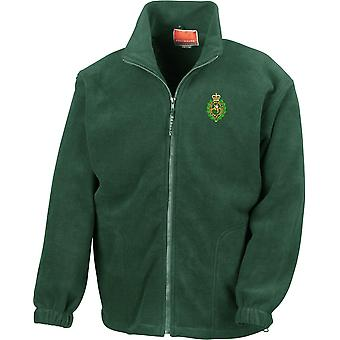 Royal Regiment Of Fusiliers Crest - Licensed British Army Embroidered Heavyweight Fleece Jacket