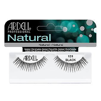 Ardell الطبيعية 131 الأسود سهلة لتطبيق كامل جلدة العين كاذبة