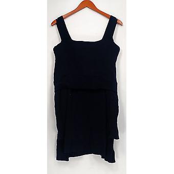 إسحاق مزراحي لايف! Women & s Plus Sweater Turtleneck Navy Blue A295899