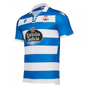 2019-2020 Deportivo La Coruna Home Shirt